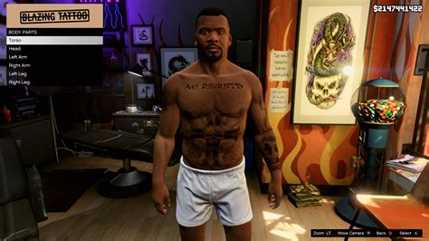 bad intentions tattoo franklin tees and no regrets gta5 mods