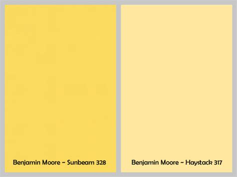 shades of yellow paint beautiful yellow paint colors 10 different shades of