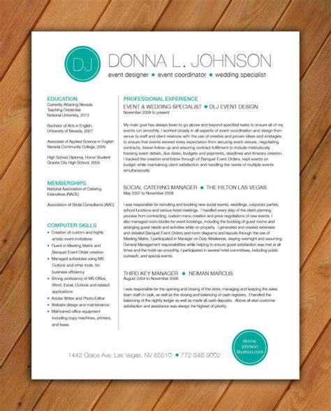 teacher resume template templates for word professional cv website