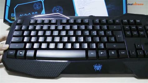Keyboard Gaming Aula aula befire usb 2 0 104 key backlit gaming keyboard dealextreme