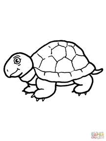 tortoise color the tortoise and hare coloring page coloring pages