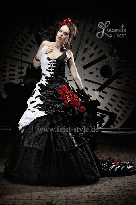 extravagante brautmode schwarze brautkleider schwarz