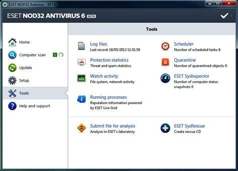 nod32 antivirus free download full version 64 bit eset nod32 antivirus 6 beta 64 bit software downloads