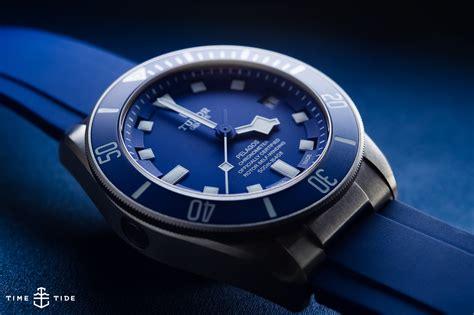 blue reviews tudor pelagos blue ref 25600tb handson review