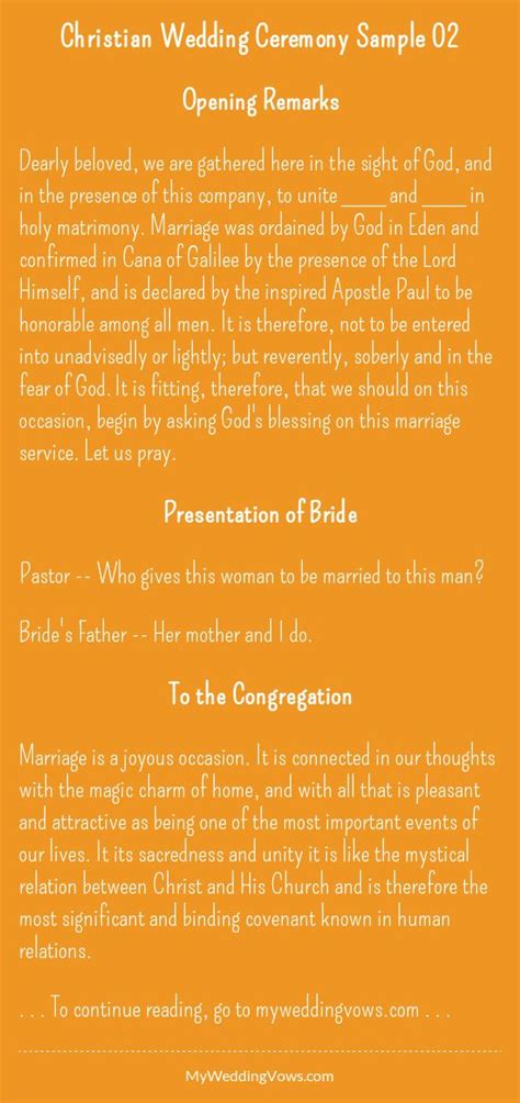 Wedding Ceremony Meaning 25 Best Ideas About Christian Wedding Vows On
