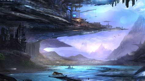 wallpaper anime landscape 50 futuristic city wallpapers