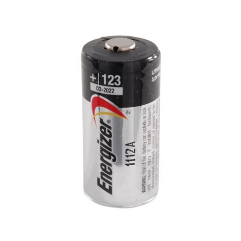 Energizer CR123 3.0V Lithium Batteries | Fenixtorch.co.uk