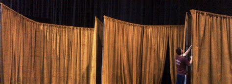 pipe and drape canada theatrical drape stage rentals services toronto rnr