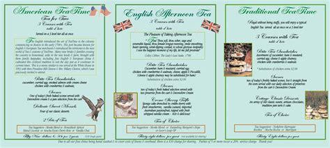 cottage in menu high tea menu