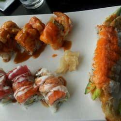 blue nami sushi sake house orangevale ca blue nami sushi sake house rainbow roll spider roll and lighthouse roll