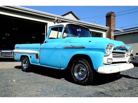 1958 chevrolet apache for sale 1958 chevrolet apache for sale classiccars cc 837403