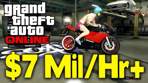 Fastest Way To Make Money On Gta Online - gta online new easy money glitch 7 million hour gta v multiplayer patched