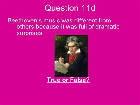 beethoven biography and questions year 9 music exam 2010 2