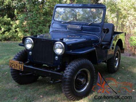 1949 Willys Jeep 1949 Willys Cj3a Jeep
