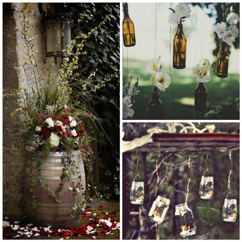 7 easy rustic wedding reception ideas wedding flowers