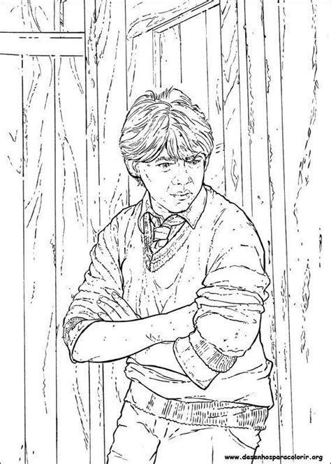 Desenhos do Harry Potter – Desenhos para Colorir