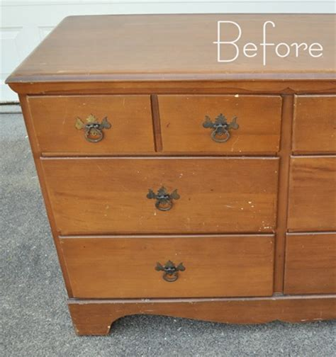 How To Paint A Dresser by Two Tone Treasure How To Paint Furniture Centsational