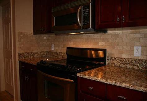 travertine brick backsplash ceramictec 2x4 tumbled chiaro travertine backsplash
