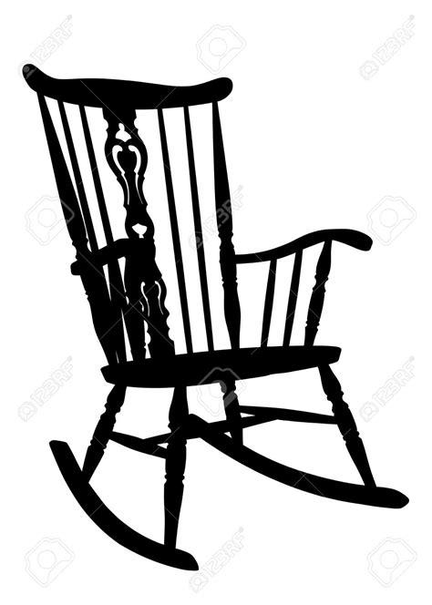 rocking chair clipart 73