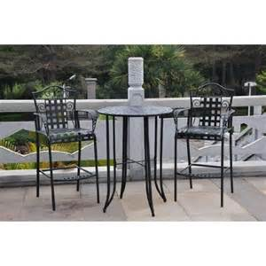 Bar Height Patio Furniture Sets Buy Garden Table And Bar Height Stool Set Wrought Iron Patio Furniture For Outdoor In Cheap