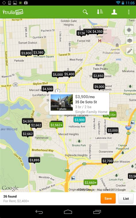 Homes For Rent App by Trulia Apts Homes For Rent Apk Free Android App