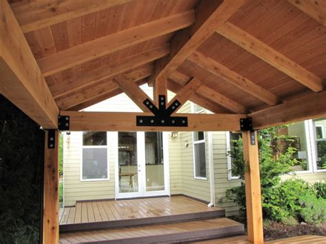 Post And Beam Patio Cover patio covers dr decks builds custom deckorators wolf