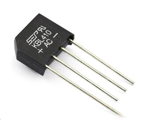 single diode new5pcs kbl410 kbl 410 4a 1000v single phases diode rectifier bridge wholesale electronic in