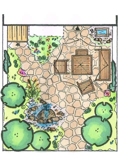 Gartengestaltung Kleiner Garten by Kleiner Garten Gro 223 E Wirkung Bauen De