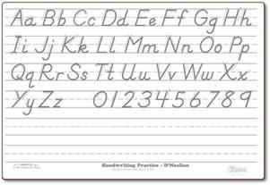 d nealian handwriting practice worksheets abitlikethis