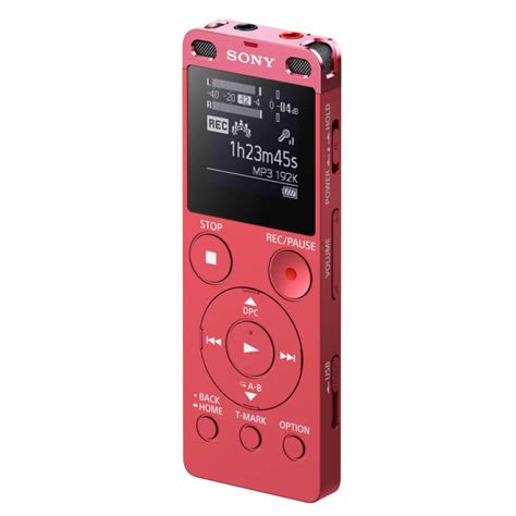 Sony Portable Icd Ux 560 F 4gb Voice Recoder Stereo sony icd ux560f digital voice recorder with built in usb and li ion battery lazada