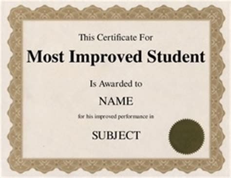 most improved certificate template geographics certificates free word templates clip