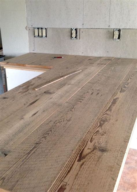 diy custom wood countertops diy reclaimed wood countertop countertops searching and