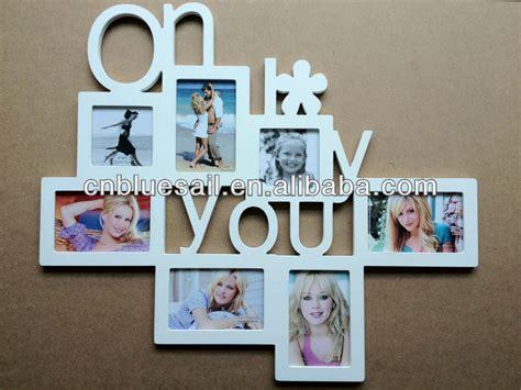 Multiplek Mdf baby wooden multi photo frame mdf collage photo frame 5 opening photo frame buy wooden multi