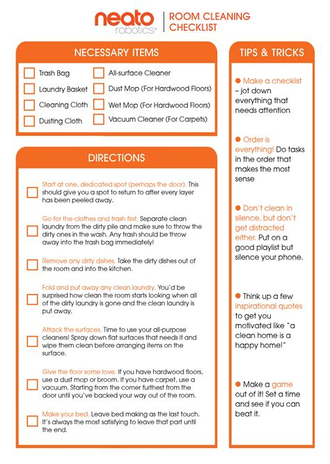 apartment design guide checklist apartment design guide the ultimate guide to cleaning your room neato