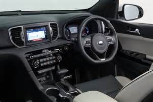 Interior Of Kia Sportage Kia Cars News 2016 Kia Sportage Pricing And Specification