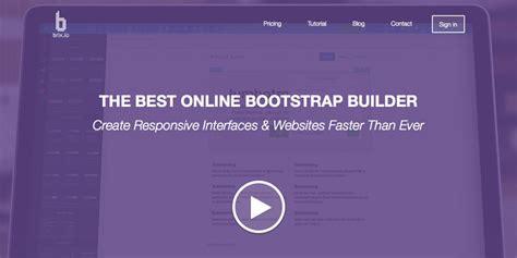 bootstrap themes builder top 5 bootstrap theme editors for efficient web development