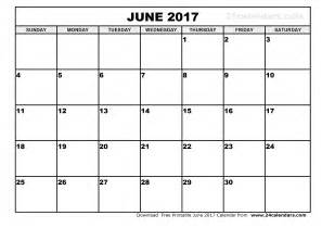 june 2017 calendar pdf weekly calendar template