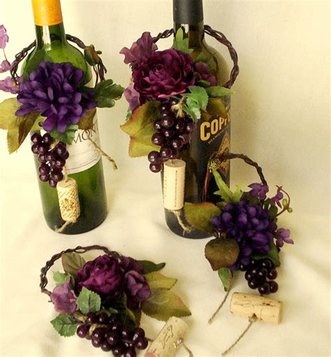 wine birthday decorations wine theme wedding centerpieces wine bottle topper by