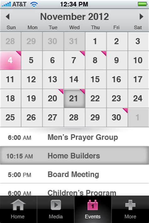 Calendar Mobile Site Radiant Unwrap Your Webtools Mobile App In 2013