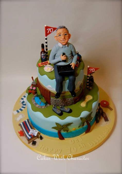 dads  birthday cake  cakes  character cakesdecor