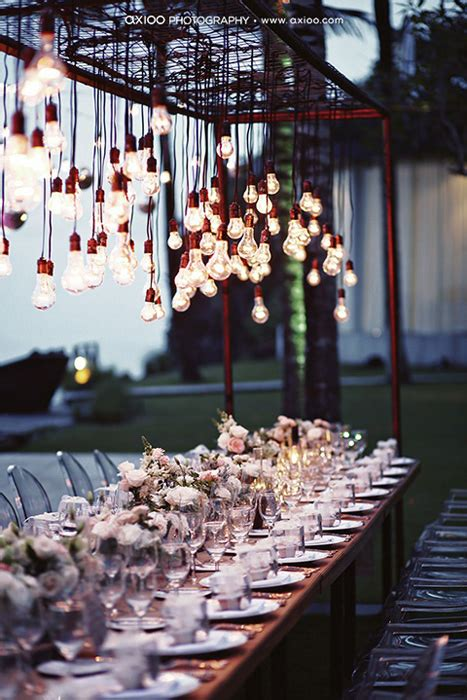 Fabric Covered Chandelier Creative Lighting Options For Your Wedding Day