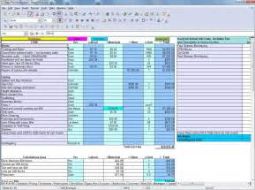 Construction Design Software Free Download example of a cost spreadsheet for easy pro builders estimator