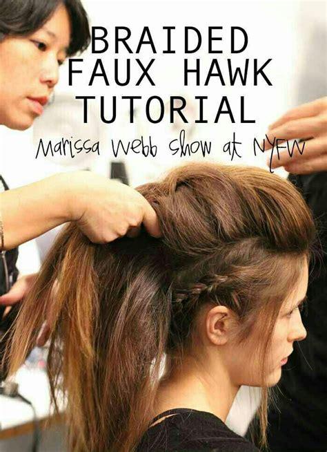 Faux Mohawk Hairstyles by 25 Best Faux Mohawk Ideas On Faux Hawk