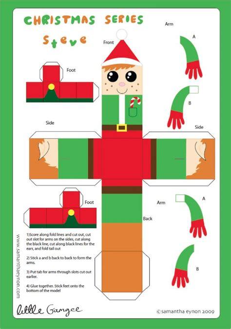 Santa Papercraft - papertoys de eynon papercraft paper