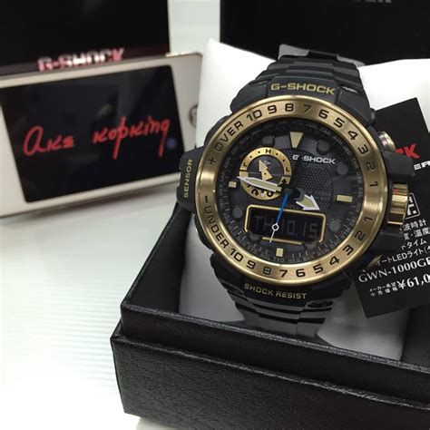 G Shock Gwn1000 Black Gold live photos g shock black x gold series gwn1000gb 1a