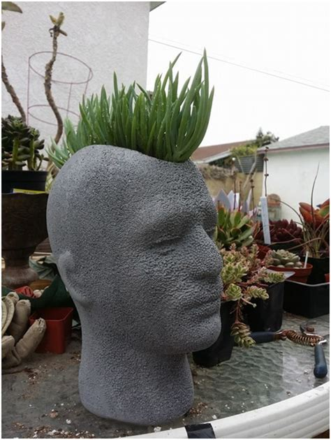 head planter pots for sale five fabulous exles of mannequin heads as floral pots