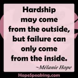 quotes about hardship quotationof