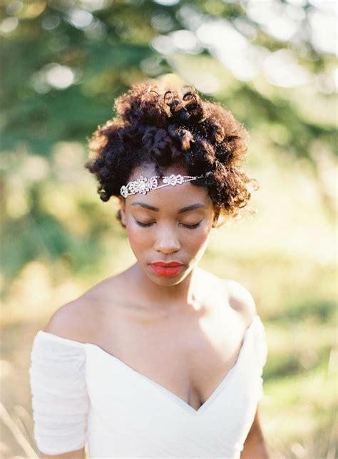 Wedding Hairstyles For Curly Afro Hair by Black Wedding Afro Hairstyles Hairstyles 2017