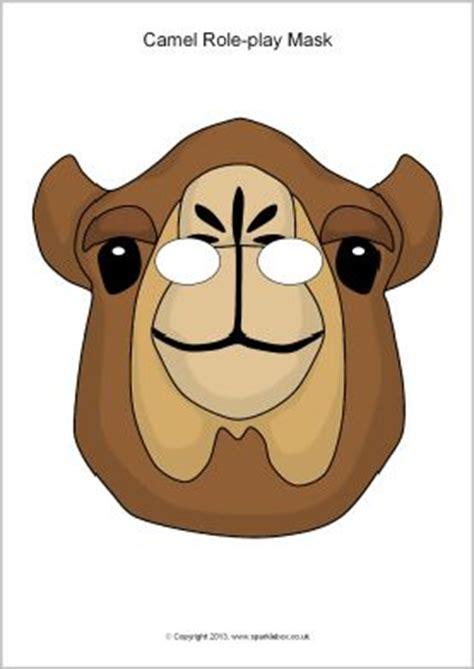 Printable Camel Mask Template | masks animal masks and camel on pinterest