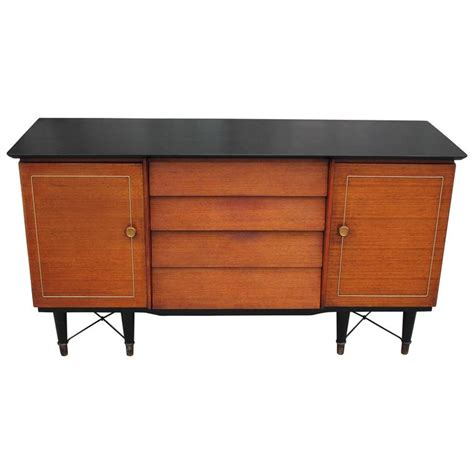 Beautility Sideboard two tone louvered modern beautility sideboard with x base